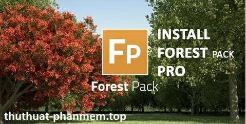 Itoo Forest Pack Pro 6.3.0 for 3ds Max 2010-2021 free download