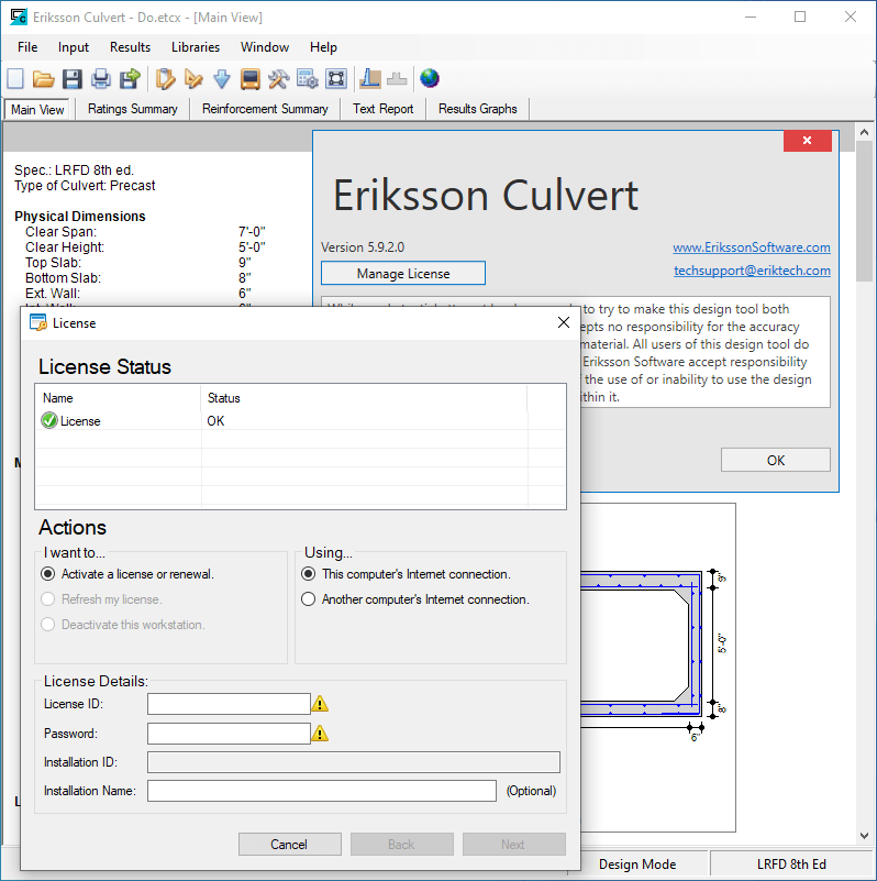 Download Eriksson Culvert 5.9.2 full
